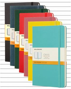Moleskine Hard Cover Large Notebook - Lined