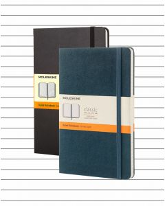 Moleskine Hard Cover Medium Notebook - Lined