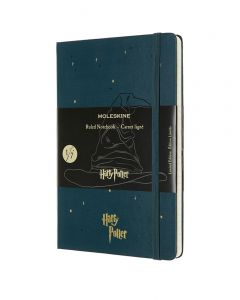 Moleskine Large Limited Edition Harry Potter Notebook - Sorting Hat
