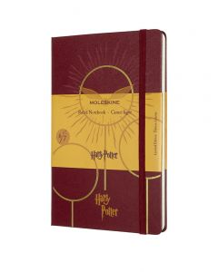 Moleskine Large Limited Edition Harry Potter Notebook - Quidditch