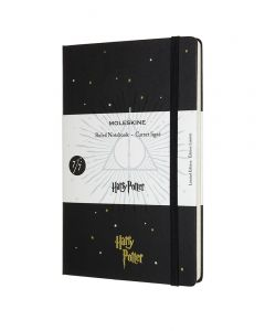 Moleskine Large Limited Edition Harry Potter Notebook - Deathly Hallows