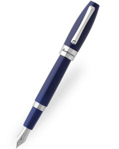 Montegrappa Fortuna Blue Palladium Trim Fountain Pen
