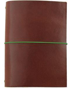 Paper Republic Grand Voyageur XL Leather Travel Notebook - Chestnut