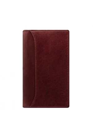 Filofax Lockwood Pocket Slim Organiser - Garnet