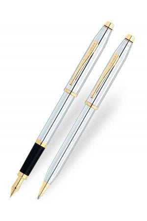 Cross Century II Medalist Ballpoint & Fountain Pen Set