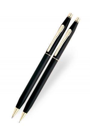 Cross Classic Century Black Ballpoint Pen & Pencil Set