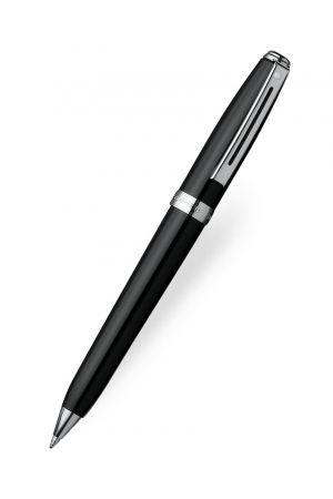 Sheaffer Prelude Gloss Black Chrome Trim Ballpoint Pen