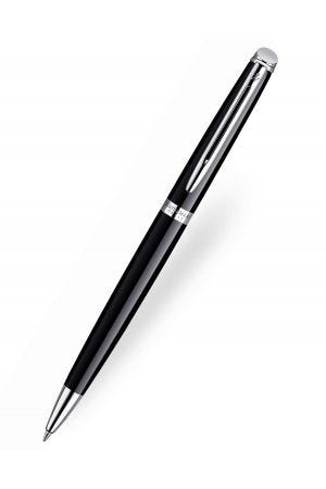 Waterman Hemisphere Black Chrome Trim Ballpoint Pen