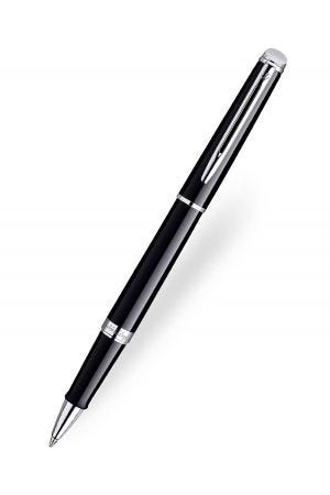 Waterman Hemisphere Black Chrome Trim Rollerball Pen