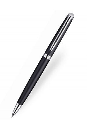 Waterman Hemisphere Matt Black Chrome Trim Ballpoint Pen
