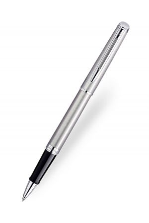 Waterman Hemisphere Stainless Steel Chrome Trim Rollerball Pen