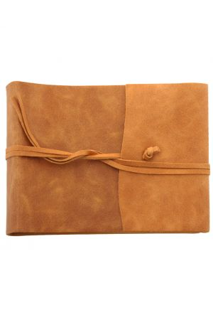 Amalfi Large Leather Photo Album - Tan