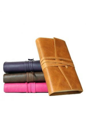 Amalfi Small Refillable Leather Diary 2020