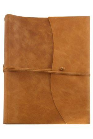 Amalfi Extra Large Leather Photo Album - Tan