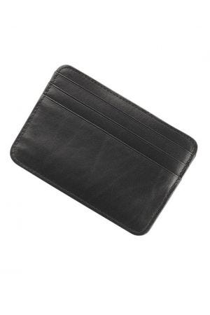 Byron & Brown Classic Credit Card Holder - Black