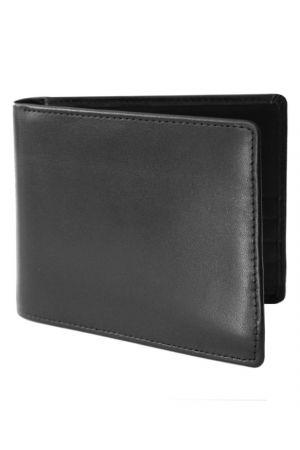 Byron & Brown Classic Billfold Wallet - Black