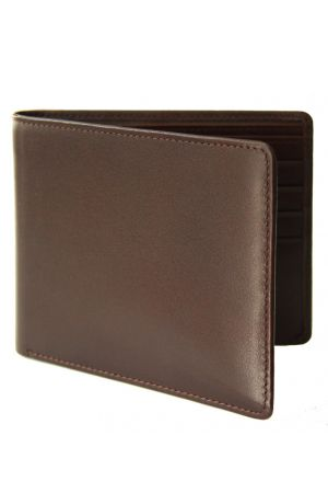 Byron & Brown Classic Billfold Wallet - Brown