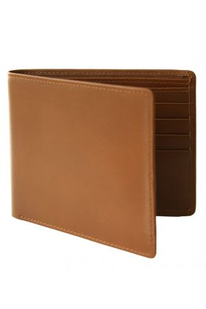 Byron & Brown Classic Billfold Wallet - Tan