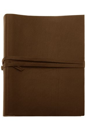 Chianti Extra Large Leather Photo Album - Chocolate