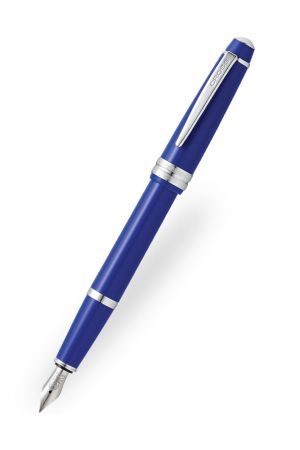 Cross Bailey Light Glossy Blue Fountain Pen