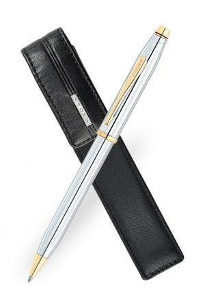 Cross Century II Medalist Ballpoint Pen & Pen Pouch Gift Set