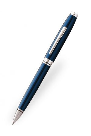 Cross Coventry Blue Lacquer Ballpoint Pen