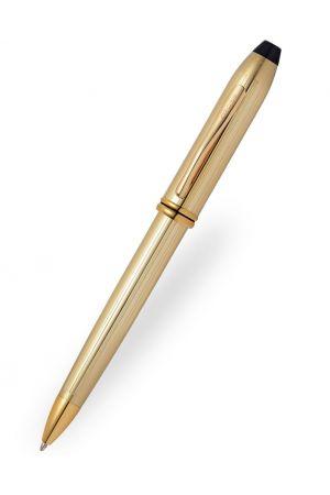 Cross Townsend 10 Carat Filled/Rolled Gold Ballpoint Pen
