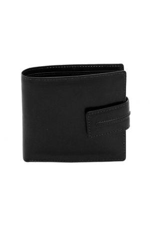 Dents Leather Billfold Coin Pocket Wallet Black