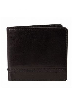 Dents Leather Billfold Wallet Black