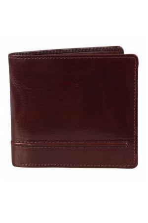 Dents Leather Billfold Wallet Mocca