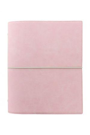 Filofax Domino Soft A5 Organiser - Pale Pink