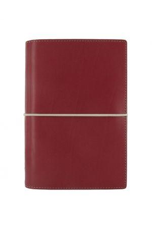 Filofax Domino Personal Organiser - Red