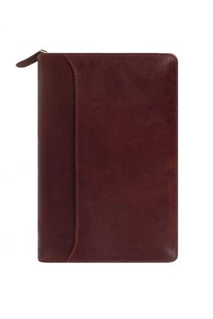Filofax Lockwood Personal Zip Organiser - Garnet