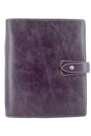 Filofax Malden A5 Organiser - Purple