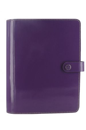 Filofax The Original A5 Organiser - Patent Purple