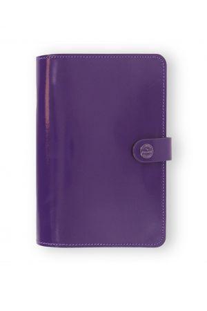 Filofax The Original Personal Organiser - Patent Purple