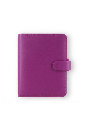 Filofax Saffiano Pocket Organiser - Raspberry