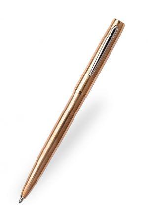 Fisher Space Cap-O-Matic Raw Brass Ballpoint Pen