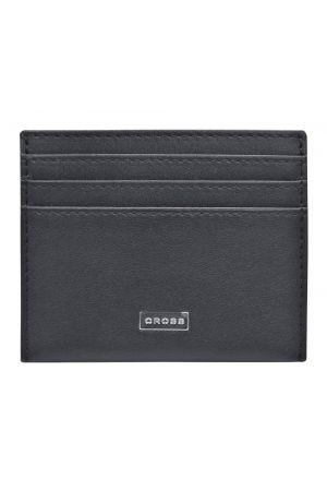 Cross Insignia Credit Card Holder - Black