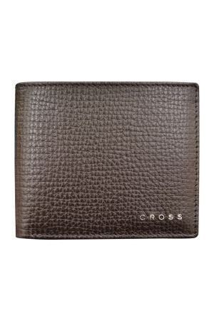 Cross RTC Coin Wallet with ID Flap - Brown