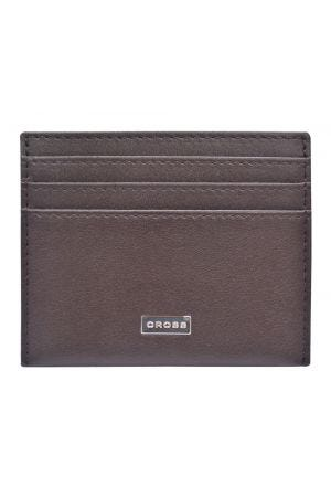 Cross Insignia Credit Card Holder - Brown