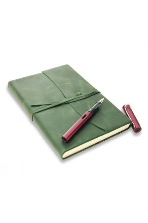 Lamy Al-Star Fountain Pen & Amalfi Medium Leather Journal