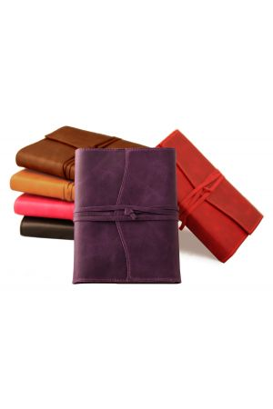 Amalfi Medium Refillable Leather Diary 2020