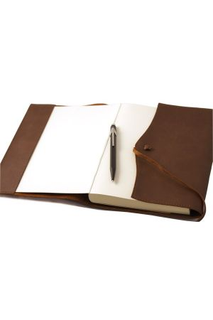 Amalfi Large Refillable Leather Diary 2020