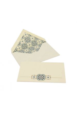 Kartos Set of 10 Medium Cards & Envelopes - Quadrilobo
