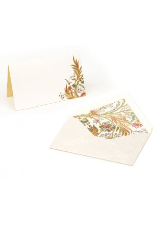 Kartos Set of 10 Medium Folded Cards & Envelopes - Cipro