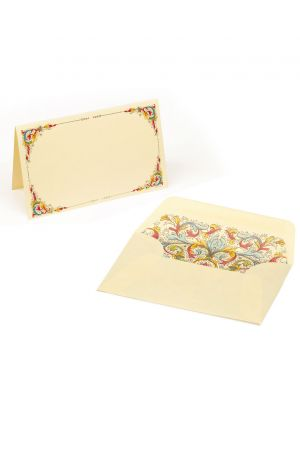 Kartos Set of 10 Medium Folded Cards & Envelopes - Florentia