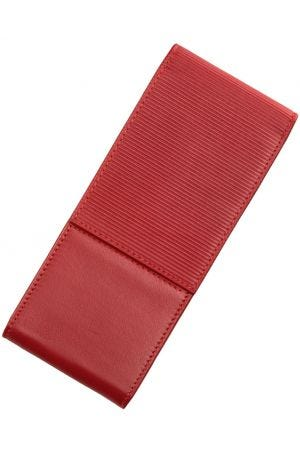 Lamy A316 Nappa Leather 3 Pen Case - Red