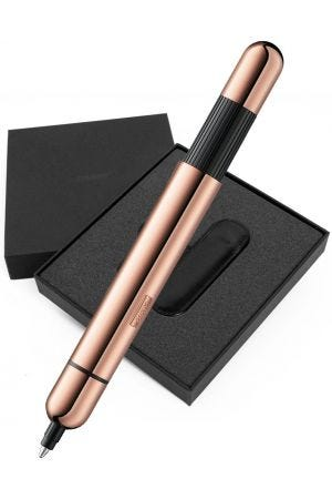 Lamy Pico 2020 Special Edition Lx Rose Gold Ballpoint Pen & Pen Case Gift Set