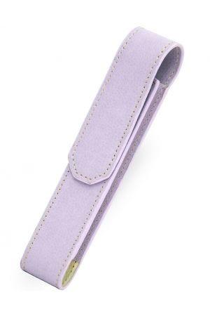Laurige 712 Leather 1 Pen Case - Pastel Lilac
